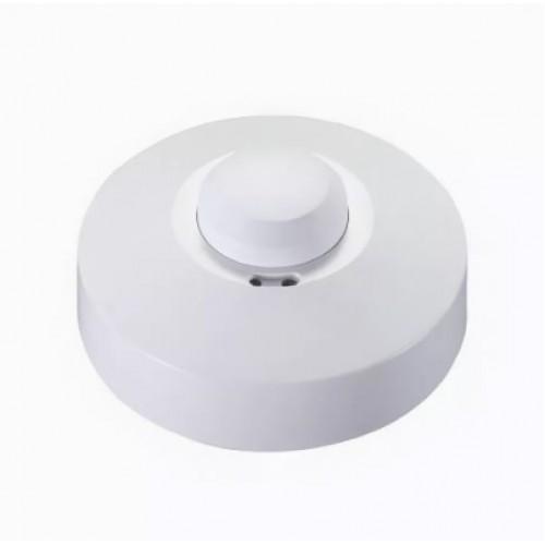 Датчик движения микроволн. накладной ДД-МВ 101 белый 1200Вт, 360гр.,8м, IP20 ИЭК