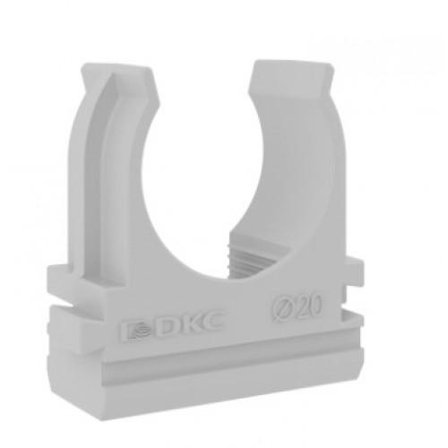Держатель (клипса) CF 20 серый ДКС 51020М для прямого монтажа