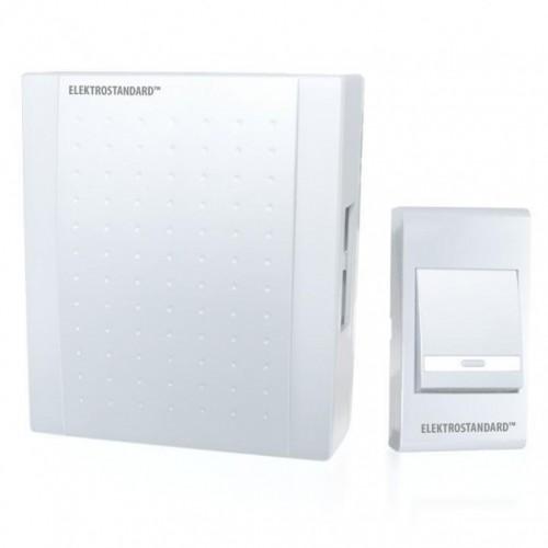 Дверной звонок-DBQ15 WM 1M IP 44 белый Эл/станд.