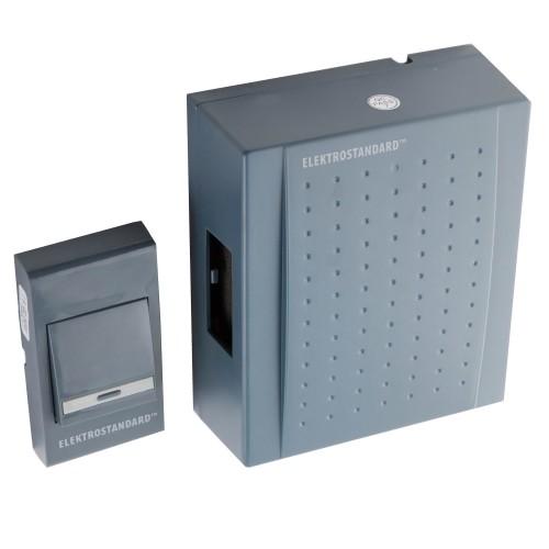 Дверной звонок-DBQ17 WM 1M IP44 серый эл/станд.