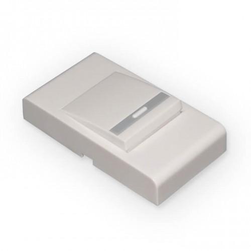 Кнопка звонка белая DBB03WM эл/станд.
