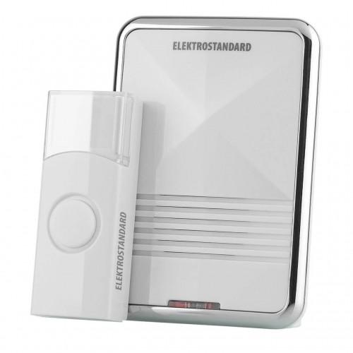 Звонок беспроводной DBQ10M белый WL MP3 16M IP44 ЭЛЕКТРОСТАНДАРТ