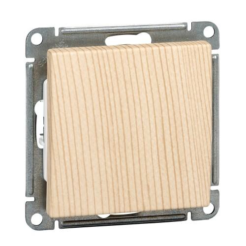 Выключатель Wessen 59 Schneider 1 кл.10 А сосна VS110-154-7-86