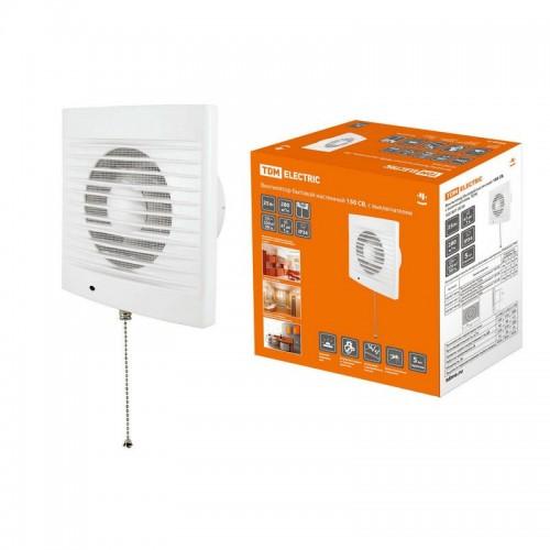 Вентилятор бытовой настенный 100 С TDM SQ-1807-0001