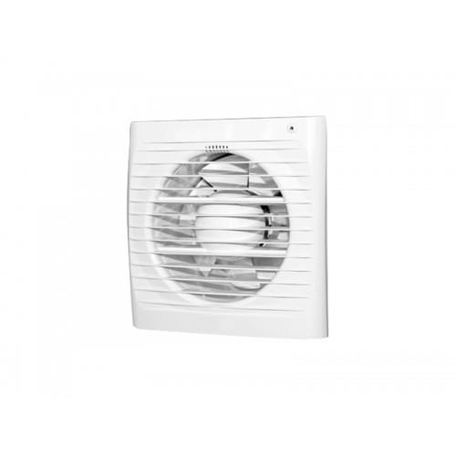 Вентилятор осевой вытяжной с обратным клапаном 100 мм белый OPTIMA 4C/ERA 4C