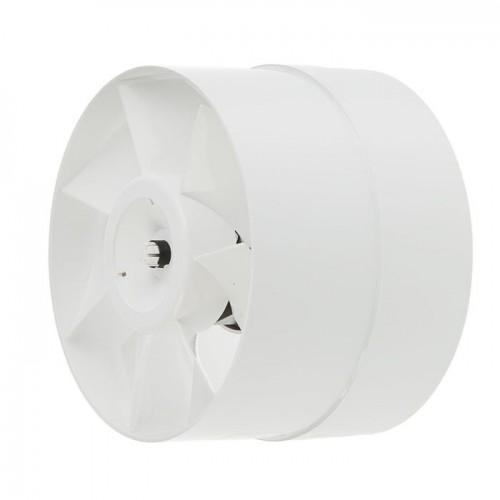 Вентилятор осевой электрический 150-VKO белый DOMOVENT