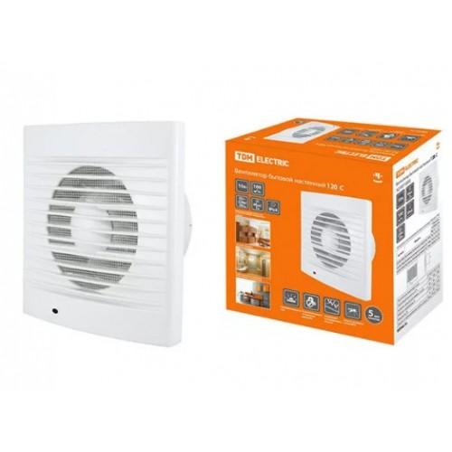 Вентилятор бытовой настенный 120 С  TDM-SQ1807-0002