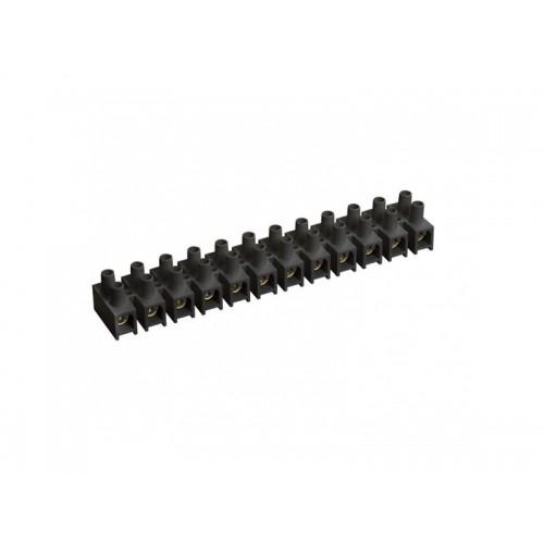 Зажим винтовой ЗВИ-3 1,0-2,5 мм 2 12 пар черный ИЭК