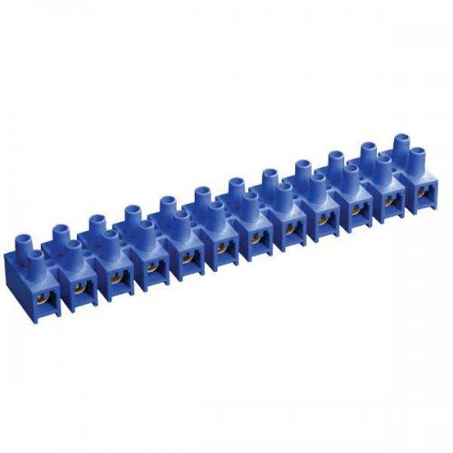 Зажим винтовой ЗВИ-5 1,5-4,0 мм 2 12 пар синий ИЭК